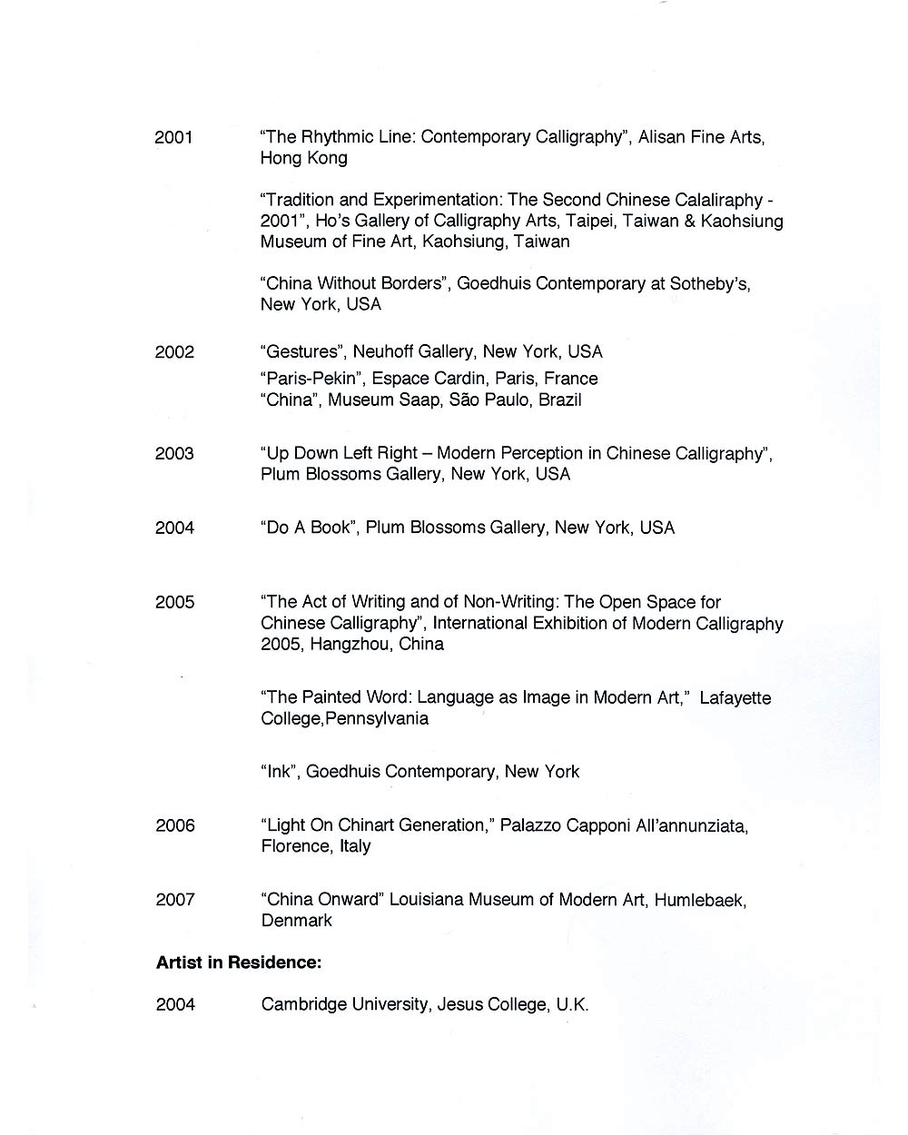 Ming Chip Fung's Resume, pg 4
